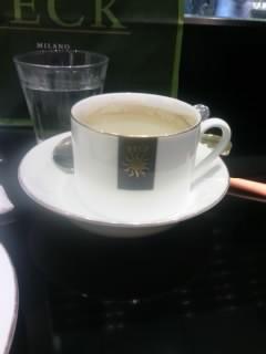 PECKのコーヒー。